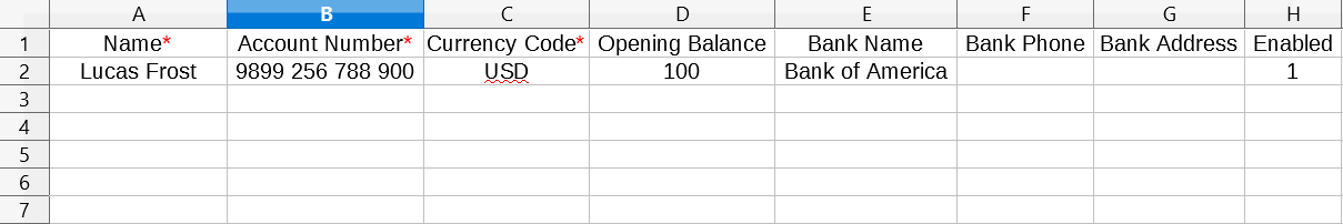 Import Accounts - WP Ever Accounting