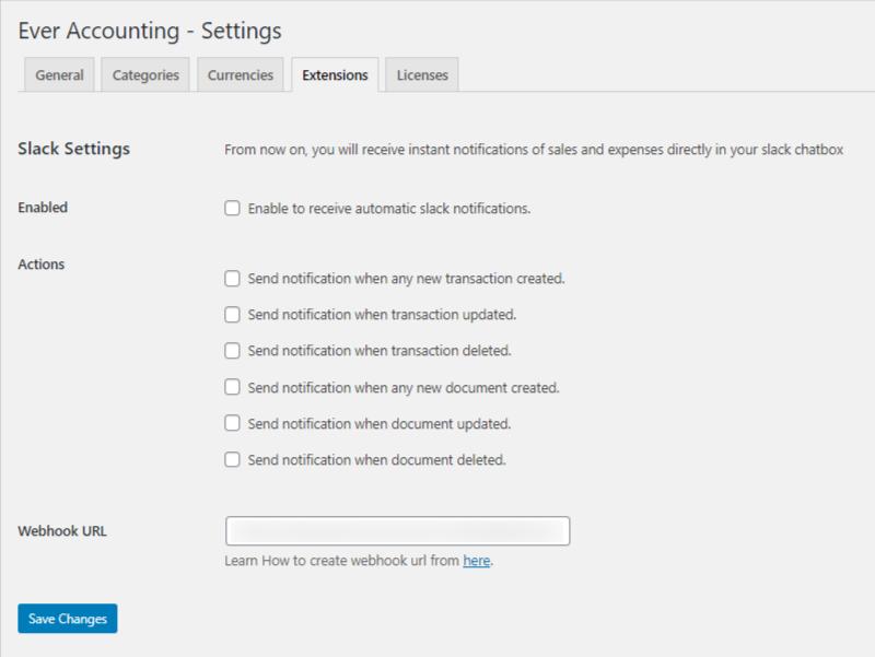 Slack WP Ever Accounting