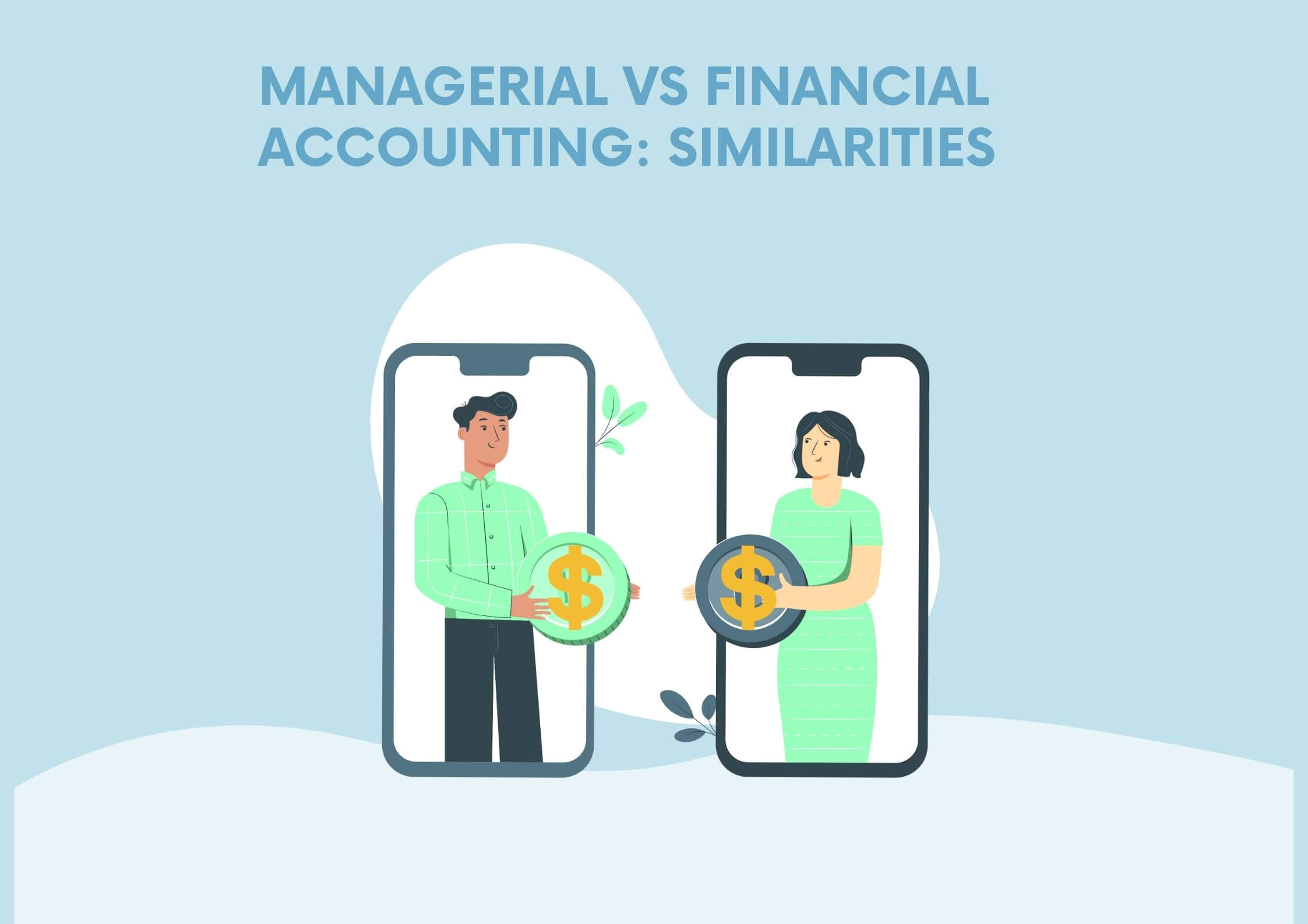 Managerial vs Financial Accounting: Similarities between them