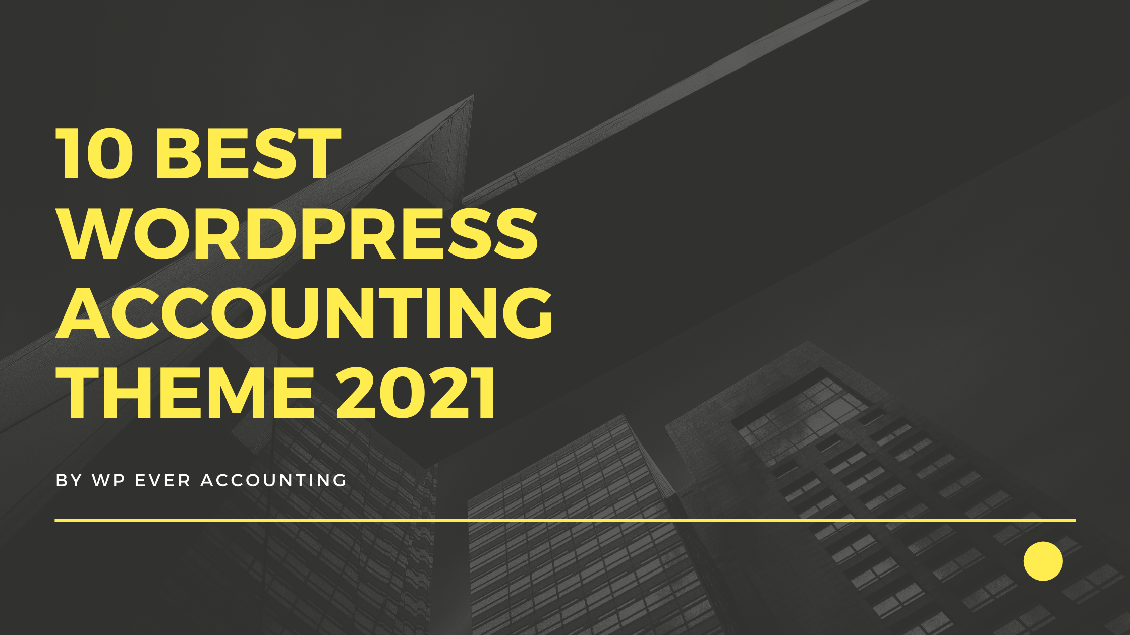 wordpress accounting theme for your online business